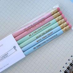 Beautiful pencils :)