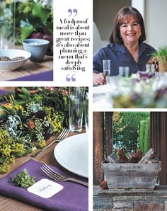 Join us for dinner at Ina Garten's - Hamptons Cottages & Gardens - December 2012 - Hamptons