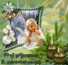 vanoce_adventni_prani Advent, Merry Christmas, Christmas Ornaments, December, Holiday Decor, Merry Little Christmas, Christmas Jewelry, Wish You Merry Christmas, Christmas Decorations