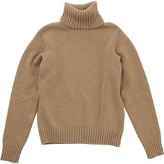 CAMEL SWEATER AMI (650 BRL) ❤ liked on Polyvore featuring tops, sweaters, jumpers, shirts, woolen sweater, wool shirt, brown sweater, camel top and wool jumper