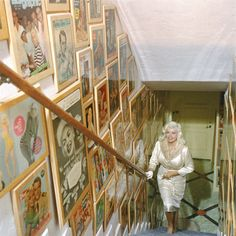 A rare look inside Jayne Mansfield's iconic 'Pink Palace' home:
