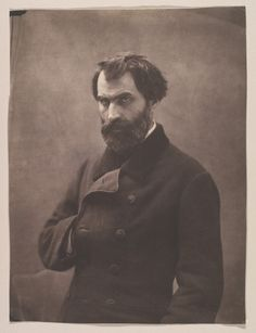 Eugène Pelletan, Nadar (Gaspard-Félix Tournachon) (French, paper print from glass negative Celebrity Photographers, French Photographers, Call Of Cthulhu, Old Pictures, Old Photos, Pierre Clement, Arte Judaica, Gaspard, John Everett Millais