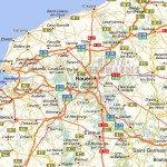 Carte région Haute-Normandie