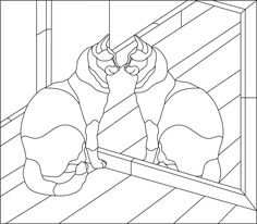 Cat Stained Glass Patterns - Bing Images