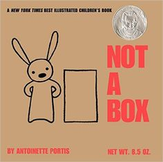 A box is just a box . . . unless it's not a box. From mountain to rocket ship, a small rabbit shows that a box will go as far as the imagination allows.