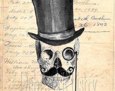 Gentlemanly skull
