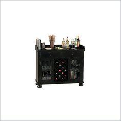 howard miller cabernet hills wine and spirit home bar in distressed black black mini bar