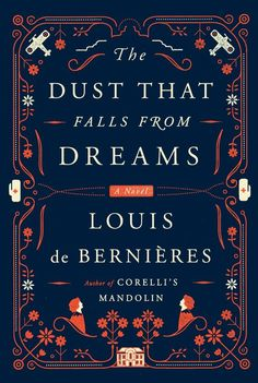 Dust That Falls From Dreams, cover design by Oliver Munday