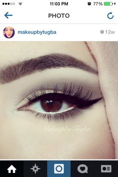 Makeup for the brown eyed girl :)