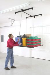 New Heavy Load & Lift Pulley System / Garage Storage on eBay!