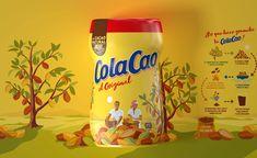 ColaCao - Rediseño de branding y packaging.