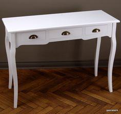 Galeriada24 Biurko Konsola biała Shabby Chic 3225