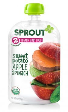 Baby Food: Sprout Organic Baby Solids, 6 & 8 Month+ Foods