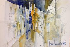 Impressionen Inna, Abstract, Artwork, Painting, Watercolor Painting, Spain, Art Work, Work Of Art, Auguste Rodin Artwork