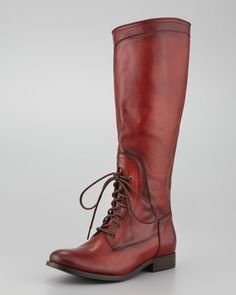 Frye - Melissa Lace-Up Riding Boot