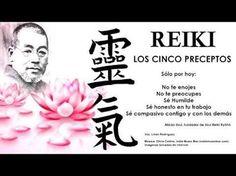 Reiki Nivel 1 – Shoden – Los cinco preceptos de Reiki – ALUNDAIN – Los Seres de la Luz