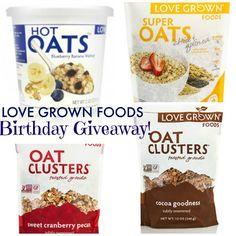 Love Grown Foods Birthday Giveaway