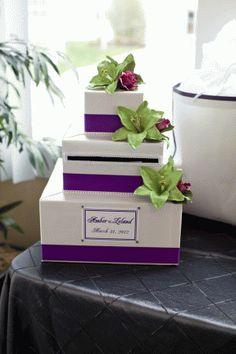 Our Wedding Card Box :)
