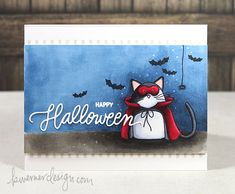 Kristina Werner- she is by far my favorite card maker. Love this card (Copic Markers & Simon Says Stamp Trick or Treat - Color Wednesday #56)