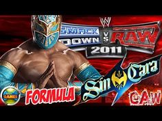 WWE How to Create Sin Cara SvR 2011