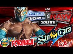 WWE How to Create Sin Cara SvR 2011