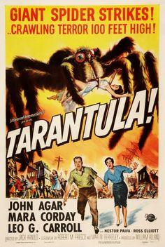 Tarantula Sci Fi Horror 1955 Movie Poster
