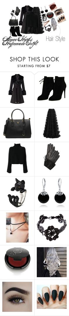 """""""Aimee Hart's Hogsmeade Outfit"""" by callmeaimeex ❤ liked on Polyvore featuring Miss Selfridge, Tom Ford, Prada, Rachel Gilbert, Golden Goose, Diane Von Furstenberg, Bling Jewelry, Valentino and Rituel de Fille"""