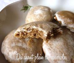 Lebkuchen (petits pains d'épices allemands) que l'on confectionne pendant les fêtes de Noël