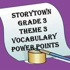 Do you want an entertaining visual to help you teach Storytown vocabulary to third grade students? These Power Point slides correspond with the Har...