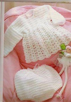 Tejidos realizados con amor para ti ...: Conjunto de bebé