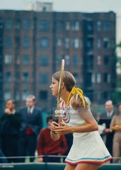American tennis player Chris Evert competing at The Championships, Wimbledon, London, Get premium, high resolution news photos at Getty Images Tennis Wear, Tennis Dress, Tennis Clothes, Tennis Outfits, American Tennis Players, Tennis Players Female, Wimbledon London, Vintage Tennis, Tennis Fashion