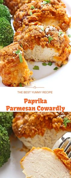 Burned Paprika Parmesan Poultry is one of those everyone-should-know-how-to-make recipes. It's easygoing and comes together rapidly. In fac. Delicious Recipes, Yummy Food, Spicy Chicken Recipes, Healthy Food, Healthy Recipes, Parmesan, Poultry, Food To Make, Food And Drink