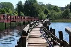 Riccardo.Acquadro posted a photo:  Bridge on the river Neris, Lituania 2014