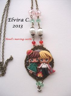 Howl's moving castle necklace by elvira-creations on deviantART