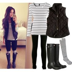 Cold days are coming…you should start planning your fall and winter outfits. Take a look at the following combinations. They will give you great ideas for