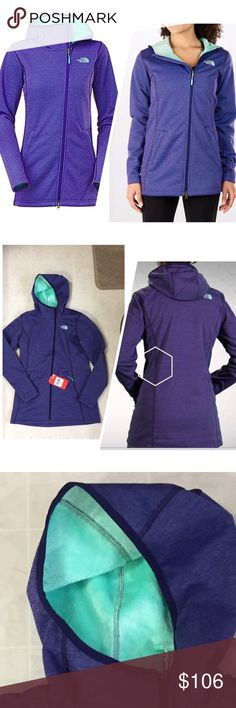 WOMEN'S THE NORTH FACE HALDEE RASCHEL PARKA NO TRADES - Keep warm in style before and after the day's activities in The North Face Haldee Raschel Parka.  Hardface knit with soft interior creates a cozy warmth. Secure-zip hand pockets. Slightly asymmetrical zip to move zip pull away from chin. Media compatible. Relaxed fit. 100% polyester. North Face Jackets & Coats