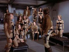 "Hollywood was behind the times with the ""all-girl Viper squadron"" from the original ""Battlestar: Galactica"" TV series in 1978. Gerry Anderson's ""Captain Scarlet and the Mysterons"" had the Spectrum Cloudbase officially defended by an all-women ace fighter force, the Spectrum Angels, in 1967."