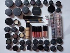 Минеральная косметика. Свотчи| Mineral cosmetics. Swatches