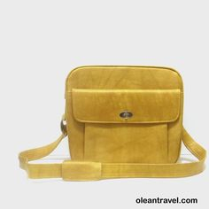 1970s travel bag / vintage 70s luggage / Samsonite / Mustard Yellow Travel Bag - http://oleantravel.com/1970s-travel-bag-vintage-70s-luggage-samsonite-mustard-yellow-travel-bag