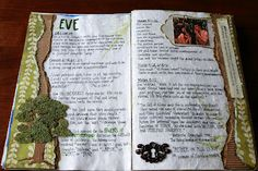 she took shannon's idea for scripture study journal and made her own style.  Lots of examples.  Some stuff to buy,