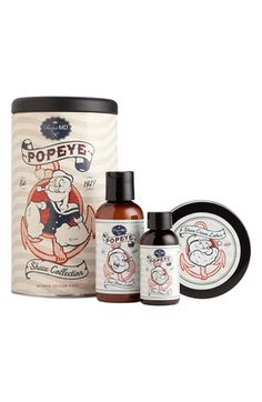 Popeye shave collection