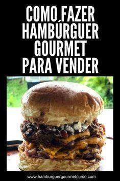 Comece seu negócio de Hambúrguer Gourmet para vender. Hambúrguer Gourmet pode te render cerca de R$6.000 por mês! desde as embalagens, a validade, a forma de vender... As melhores receitas de hamburguer gourmet para você começar a treinar em casa para vender! #ricksburger #hamburguer #hamburg #receita #curso #negocio #gourmet #carne #facaevenda #façavocêmesmo #gastronomia #lanches #culinária #suacozinha #ganhardinheiro #chef #hamburgueria #hamburgueiro #cozinha #dicadodia #dica