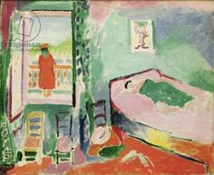 Matisse, Henri (1869-1954) Collioure Interior, 1905 (oil on canvas)