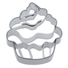 Celebration Themed Cookie Cutters - Cookie Cutter Cupcake Stainless Steel