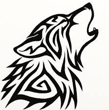 Resultado de imagem para lobos para colorir