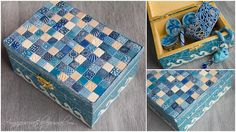 Another mosaic box by Anna Jour, via Flickr
