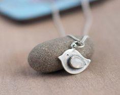 Silver whale pendant Silver jewellery Animal door TOTOanimals