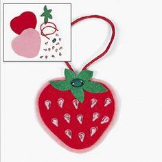 Rhinestone Strawberry Craft Kit