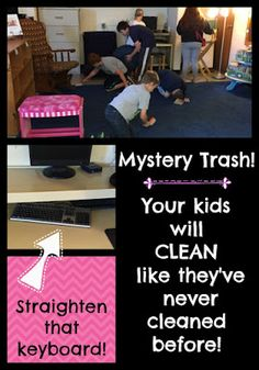Mystery Trash is a q