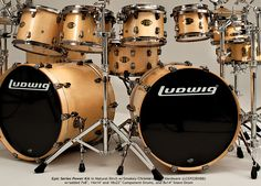 Ludwig Drums USA - Drumkits, Snare Drums, Concert & Marching Percussion